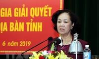 쯔엉 티 마이 대중동원위원장: 복잡한 문제를 해결할 때는 국민의 이익을 우선으로