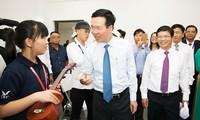 보 반 트엉 중앙선전교육위원장, 꽝 응아이 국제교육도시 개장식 참석