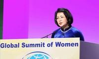 당 티 응옥 틴 부주석, 세계여성정상회의서 4차 산업혁명 디지털시대 여성의 역할 제고