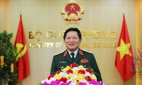 베트남 고위급 군대표단, 제 13차 ASEAN 국방장관회의 참석
