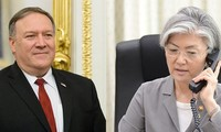 """한국-미국 외무장관, """"일본 수출규제 바람직안해"""""""