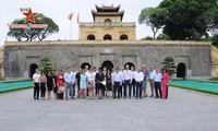 UNESCO 대표, 탕롱황성 유적지 방문