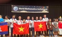 하노이 학생들, WMI 국제수학대회서 높은 성적 달성