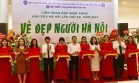 """""""하노이 사람들의 아름다움"""" 예술사진 축제, 119 개 작품 전시"""