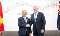 베트남과 호주 양국 관계 촉진을 위한  새로운 바탕과 동력 창출 노력