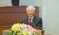 អគ្គលេខាបក្សកុម្មុយនិស្តវៀតណាមលោក Nguyen Phu Trong អញ្ជើញធ្វើសច្ចាប្រណិធានចូលកាន់តំណែងជាប្រធានរដ្ឋ