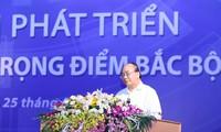 នាយករដ្ឋមន្រ្តីវៀតណាមលោក Nguyen Xuan Phuc: តំបន់សេដ្ឋកិច្ចសំខាន់នៅភាគខាងជើងត្រូវរក្សាដ៏រឹងមាំនូវតួនាទីជាមជ្ឈមណ្ឌលសេដ្ឋកិច្ច