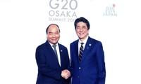 នាយករដ្ឋមន្រ្តីវៀតណាមលោក Nguyen Xuan Phuc អញ្ជើញចូលរួមសកម្មភាពនានាក្នុងក្របខ័ណ្ឌកិច្ចប្រជុំ G20