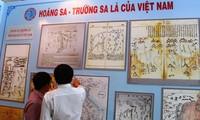 ការតាំងពិព័រណ៍ឯកសារស្ដីពីប្រជុំកោះ Hoang Sa និង Truong Sa នៅខេត្ត Ben Tre