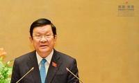越南国会审议免去张晋创的国家主席职务