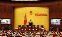 越南国会常委会向国会呈交国会副主席和国会常委会委员提名名单