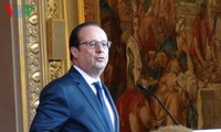 法国总统奥朗德对埃及进行正式访问