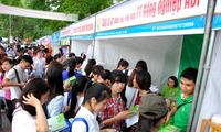 越南农业专业大学生招聘会举行