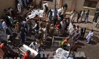 """塔利班和""""伊斯兰国""""都宣称对巴基斯坦自杀式爆炸袭击负责"""