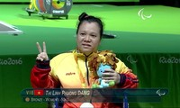 越南残奥会代表团获得第2枚奖牌