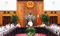 阮春福与清化省领导人举行工作座谈会