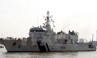 印度海岸警卫队巡逻舰访问越南