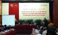 发挥越南农民在农业结构重组中的作用