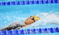 越南运动员在东南亚游泳比赛中荣获39枚奖牌