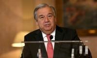 联合国新任秘书长安东尼奥·古特雷斯:2017年把和平置于首位