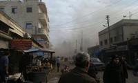 叙利亚遭到汽车爆炸袭击 造成多人死亡