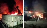 墨西哥一所监狱发生火灾
