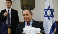 以色列总理内塔尼亚胡承诺为了中东的和平而与美国合作