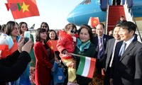 越南国会主席阮氏金银对匈牙利进行正式访问