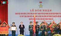 陈大光出席海防市边防部队人民武装力量英雄单位称号颁授仪式