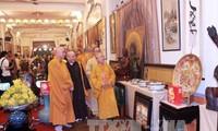 庆祝盂兰节的佛教文化周开幕