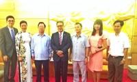 越南与萨尔瓦多增进团结友谊