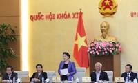 越南第十四届国会常委会第十五次会议开幕