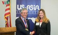越南驻美国大使范光荣获颁为美国-东盟关系做出贡献纪念章