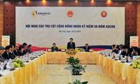 2017年 越南积极参加建设东盟共同体各个支柱