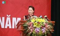 阮氏金银出席2018年国家审计工作任务部署会议