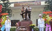 """""""1968年西贡城区别动力量进攻西贡广播电台""""纪念碑落成"""