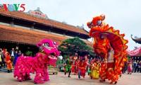 喃村庙会的文化色彩