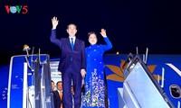 陈大光开始对印度进行国事访问