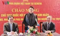 越南党和政府在国家发展事业中一向重视引进旅居外国的越南人才