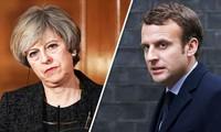 英法领导人就袭叙接受国会质询