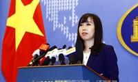 越南反对中国在黄沙群岛进行军演