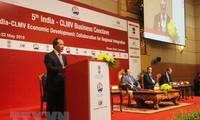 越南加强融入柬老缅越与印度地区