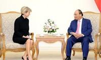 推动越南和澳大利亚多个领域的关系深入发展