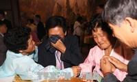 朝韩离散家属团聚场面十分感人