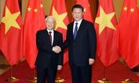 越南党和国家领导人致电祝贺中华人民共和国国庆69周年