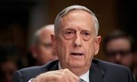 美国国防部长马蒂斯取消中国之行