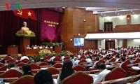 越共12届8中全会讨论经济社会情况