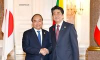 阮春福出席第十届湄公河流域国家与日本峰会记者会