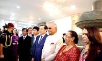 印度总统科温德访问岘港和广南的活动