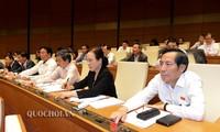 越南国会通过5项重要法律草案